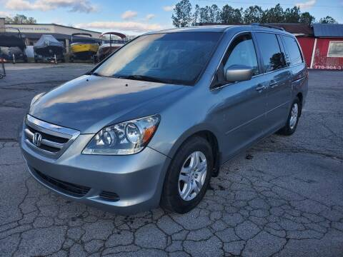 2007 Honda Odyssey for sale at GA Auto IMPORTS  LLC in Buford GA