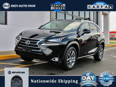 2016 Lexus NX 200t for sale at INDY AUTO MAN in Indianapolis IN