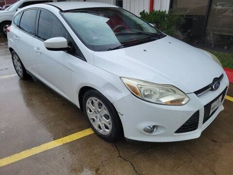 2012 Ford Focus for sale at FREDY USED CAR SALES in Houston TX