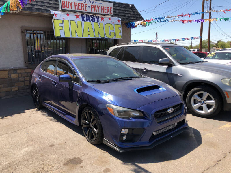 2016 Subaru WRX for sale at Valley Auto Center in Phoenix AZ