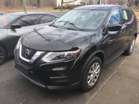 2017 Nissan Rogue for sale at MELILLO MOTORS INC in North Haven CT
