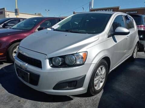 2014 Chevrolet Sonic for sale at Auto Plaza in Irving TX