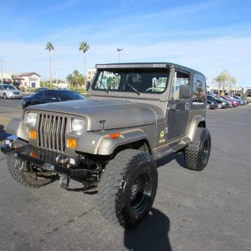 1989 Jeep Wrangler for sale at Charlie Cheap Car in Las Vegas NV