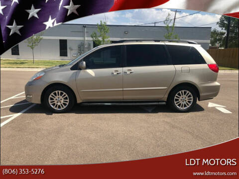 2007 Toyota Sienna for sale at LDT MOTORS in Amarillo TX
