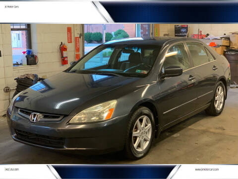 2004 Honda Accord for sale at JK Motor Cars in Pittsburgh PA