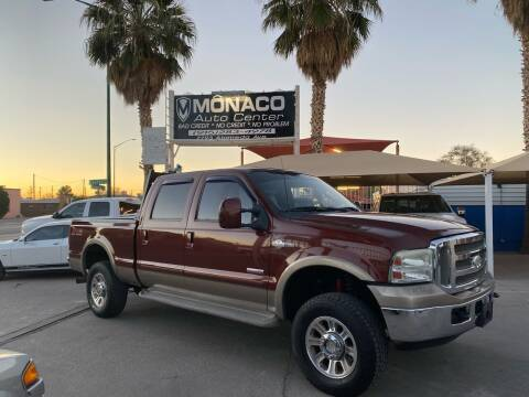 2005 Ford F250 Super Duty for sale at Monaco Auto Center LLC in El Paso TX