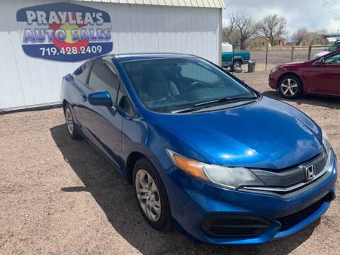 2014 Honda Civic for sale at Praylea's Auto Sales in Peyton CO