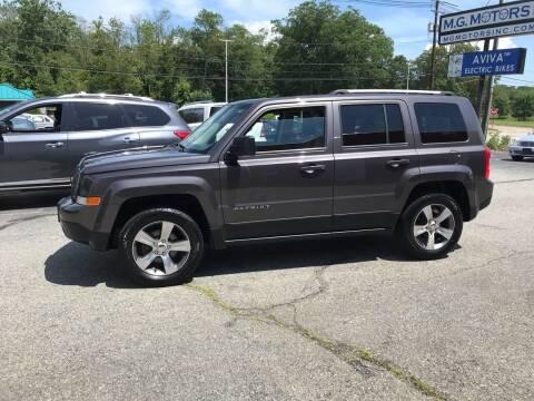 2016 Jeep Patriot for sale at M G Motors in Johnston RI
