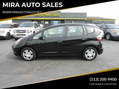 2011 Honda Fit for sale at MIRA AUTO SALES in Cincinnati OH