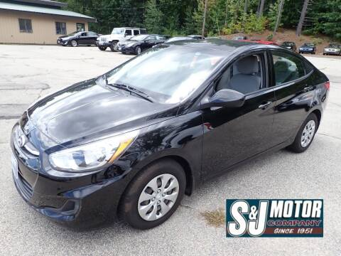 2016 Hyundai Accent for sale at S & J Motor Co Inc. in Merrimack NH