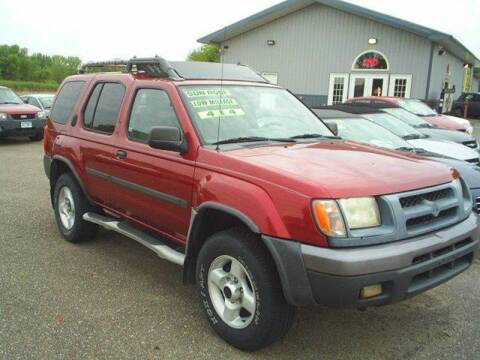 2001 Nissan Xterra for sale at Dales Auto Sales in Hutchinson MN