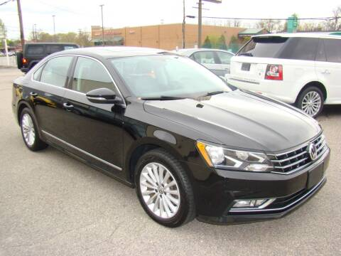 2016 Volkswagen Passat for sale at Greenville Auto Sales in Warwick RI