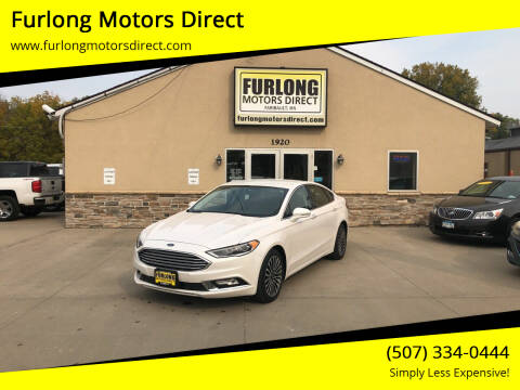 2017 Ford Fusion for sale at Furlong Motors Direct in Faribault MN