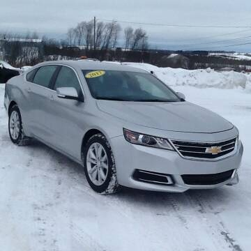 2017 Chevrolet Impala for sale at Garys Sales & SVC in Caribou ME