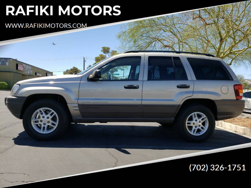 2003 Jeep Grand Cherokee for sale at RAFIKI MOTORS in Henderson NV
