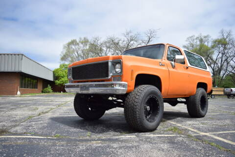 1978 Chevrolet Blazer for sale at STUDIO HOTRODS in Richmond IL