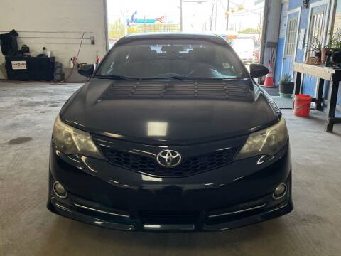 2012 Toyota Camry for sale at Ricky Auto Sales in Houston TX