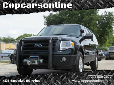 2013 Ford Expedition EL for sale at Copcarsonline in Largo FL