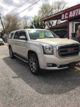 2015 GMC Yukon XL for sale at D. C.  Autos in Huntsville AL