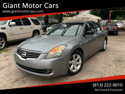 2009 Nissan Altima for sale at Giant Motor Cars in Tampa FL