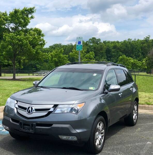 2008 Acura MDX for sale at ONE NATION AUTO SALE LLC in Fredericksburg VA