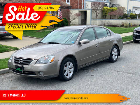 2004 Nissan Altima for sale at Reis Motors LLC in Lawrence NY