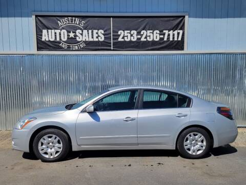 2012 Nissan Altima for sale at Austin's Auto Sales in Edgewood WA