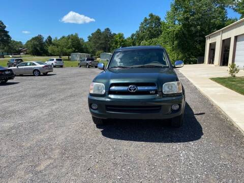2007 Toyota Sequoia for sale at B & B AUTO SALES INC in Odenville AL