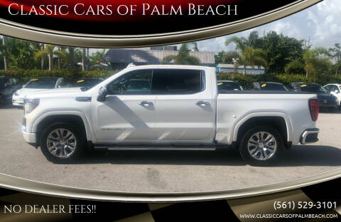 2019 GMC Sierra 1500 for sale at Classic Cars of Palm Beach in Jupiter FL