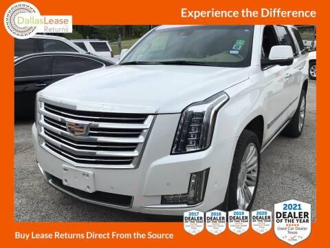 2020 Cadillac Escalade for sale at Dallas Auto Finance in Dallas TX