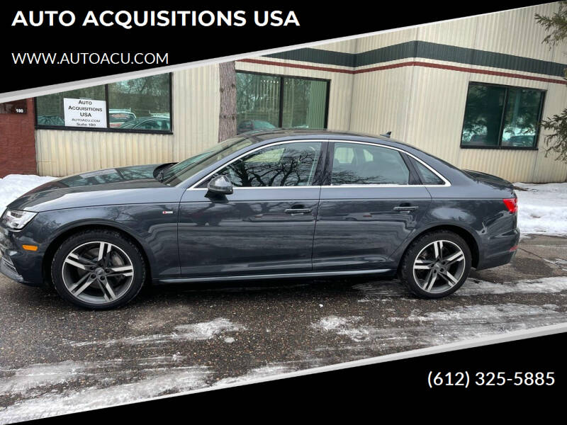 2017 Audi A4 for sale at AUTO ACQUISITIONS USA in Eden Prairie MN