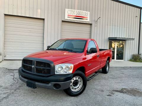 2008 Dodge Ram Pickup 1500 for sale at CTN MOTORS in Houston TX