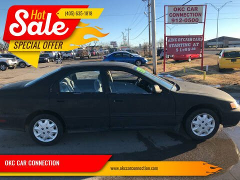 1997 Honda Accord for sale at OKC CAR CONNECTION in Oklahoma City OK