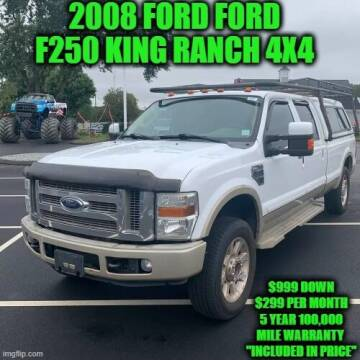 2008 Ford F-250 Super Duty for sale at D&D Auto Sales, LLC in Rowley MA