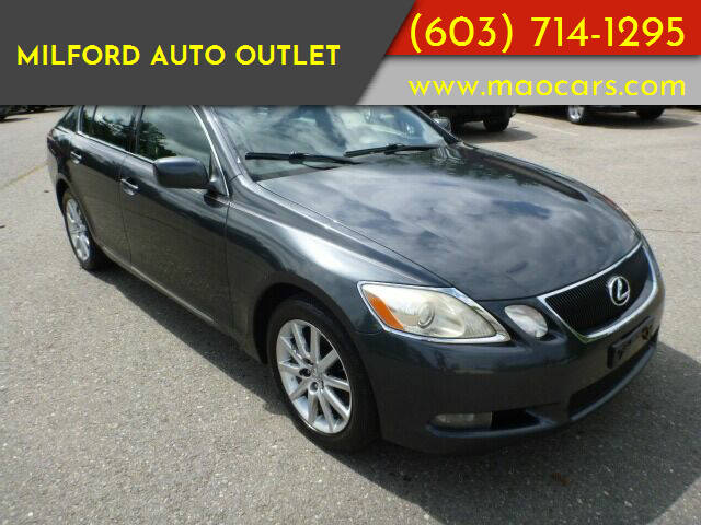 2007 Lexus GS 350 for sale at Milford Auto Outlet in Milford NH