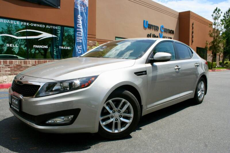 2013 Kia Optima for sale at CK Motors in Murrieta CA