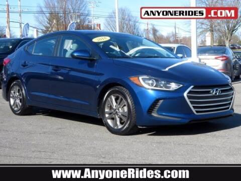 2018 Hyundai Elantra for sale at ANYONERIDES.COM in Kingsville MD