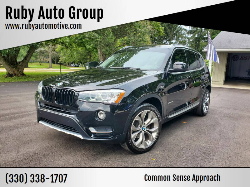 2016 BMW X3 for sale at Ruby Auto Group in Hudson OH