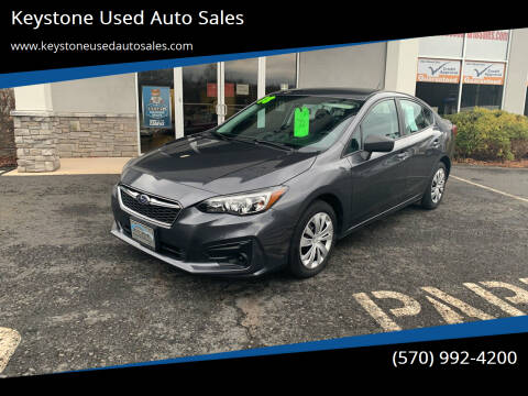 2018 Subaru Impreza for sale at Keystone Used Auto Sales in Brodheadsville PA