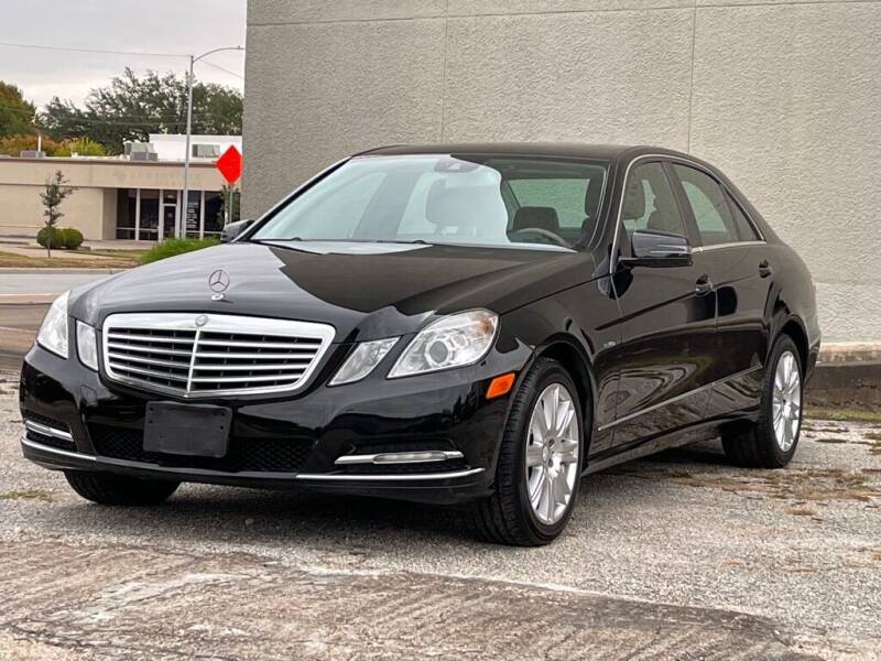 2012 Mercedes-Benz E-Class for sale at Strait Motor Cars Inc in Houston TX