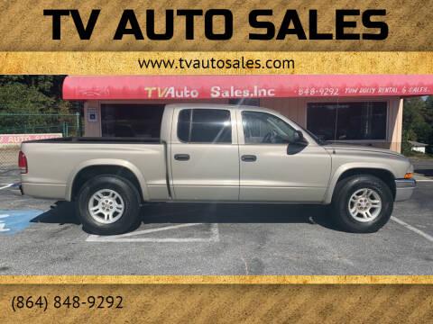 2003 Dodge Dakota for sale at TV Auto Sales in Greer SC