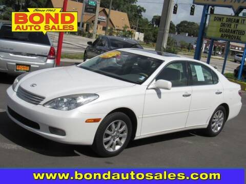 2002 Lexus ES 300 for sale at Bond Auto Sales in St Petersburg FL