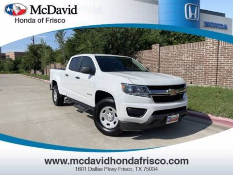 2015 Chevrolet Colorado for sale at DAVID McDAVID HONDA OF IRVING in Irving TX