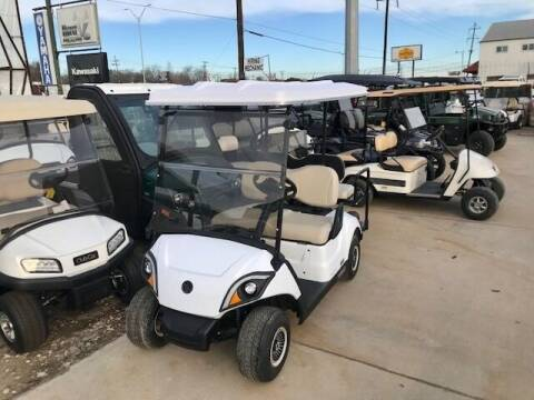 2021 Yamaha Drive2 4 Pass QuieTech EFI Gas for sale at METRO GOLF CARS INC in Fort Worth TX