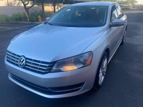 2015 Volkswagen Passat for sale at Autodealz in Tempe AZ