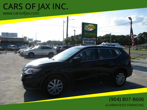 2017 Nissan Rogue for sale at CARS OF JAX INC. in Jacksonville FL