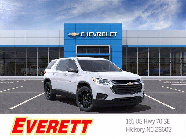 2021 Chevrolet Traverse for sale at Everett Chevrolet Buick GMC in Hickory NC