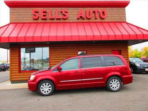 2012 Chrysler Town and Country for sale at Sells Auto INC in Saint Cloud MN
