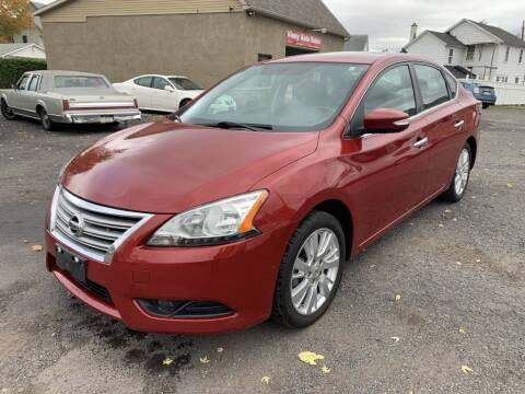 2013 Nissan Sentra for sale at VINNY AUTO SALE in Duryea PA