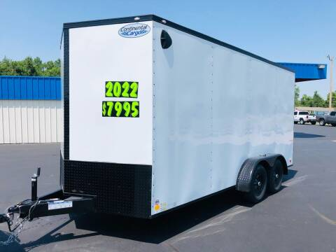 2022 Forrest River 7x16 Tandem Axle